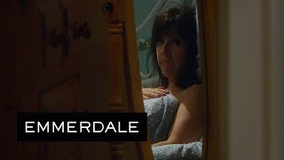 Emmerdale - Moira Walks In On Cain Sleeping With Kerry