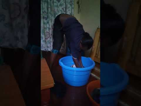 Cleaning the African way