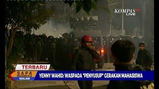 Dialog - Aksi Pelajar, Pasca Demo Mahasiswa; Yenny Wahid: Harus Hati-Hati Penanganannya!
