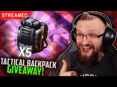 *ENDED* TACTICAL BACKPACK GIVEAWAY!| Last Day on Earth: Survival