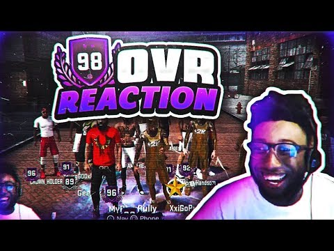 HITTING 98 OVERALL LIVE ON STREAM!!!! 2K TOLD HIM HE WAS GOING TO BE ON NBA 2KTV!!!! NBA 2K18