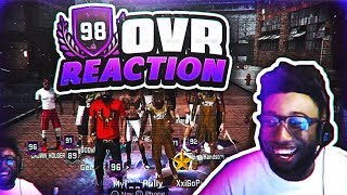 Video HITTING 98 OVERALL LIVE ON STREAM!!!! 2K TOLD HIM HE WAS GOING TO BE ON NBA 2KTV!!!! NBA 2K18 download MP3, 3GP, MP4, WEBM, AVI, FLV Juli 2018