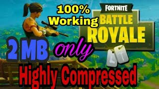 FORTNITE | highly compressed download for pc/laptop