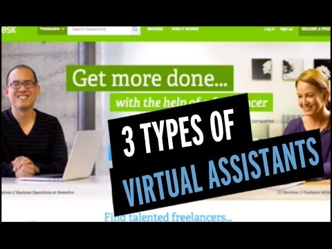 3 Types of Virtual Assistant Services
