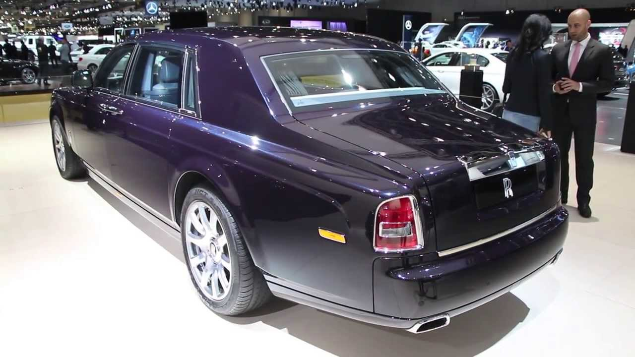 rolls royce celestial phantom with 446 diamonds dubai motor show 2013 youtube. Black Bedroom Furniture Sets. Home Design Ideas