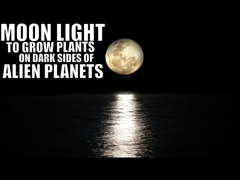 Moonlight from Alien Planets Could Grow Plants on The Dark Side