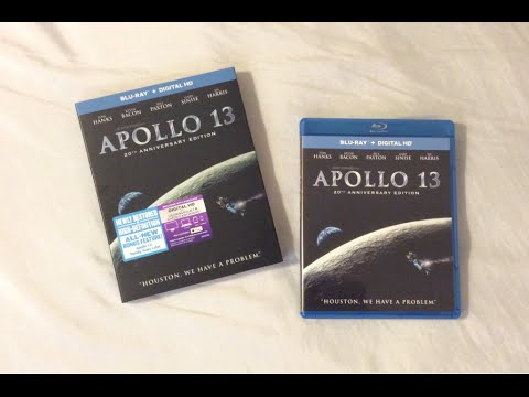 Download Apollo 13: 20th Anniversary Edition (1995) Blu Ray Review and Unboxing