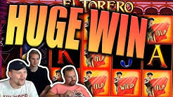 Big Win on El Torero Slot - Casino Stream Big Wins
