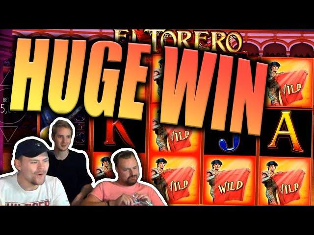 Big Win on El Torero Slot - Casino Stream Big Wins
