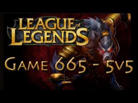 LoL Game 665 - 5v5 - Warwick Jungle - 2/2