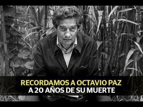 Recordamos a Octavio Paz a 20 años de su muerte