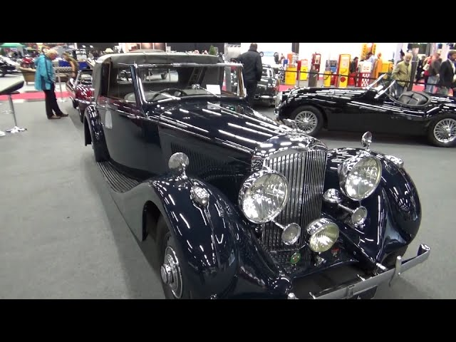 1938, Bentley, 4,25 Litre Sedanca Coupé James Young, Overdrive - Classic Expo Salzburg 2014