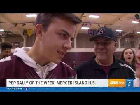KING 5 Pep Rally - Mercer Island High School 3