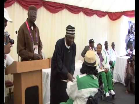 2012 Paralympics Games(Nigeria)