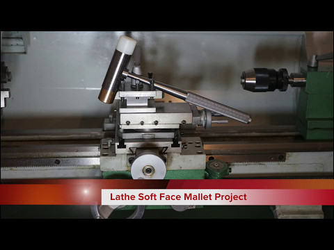 Metal Lathe DIY Project - Make a soft face mallet