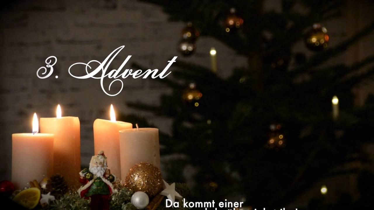 Youtube 3 Advent