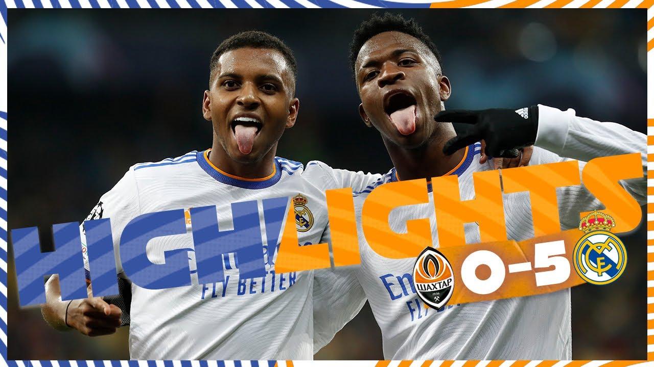 Download HIGHLIGHTS | Shakhtar Donetsk 0-5 Real Madrid | Vini Jr.'s WONDERGOAL!