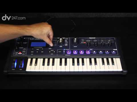 Novation MiniNova Synthesizer Demonstration