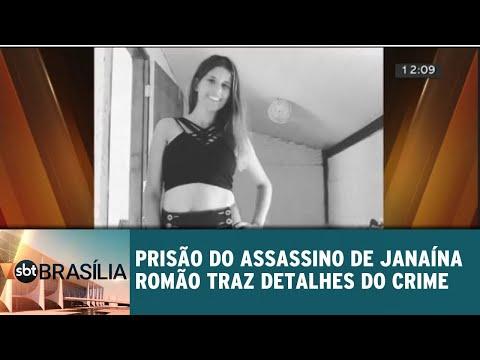Prisão do assassino de Janaína Romão e detalhes do crime | SBT Brasília 18/07/2018