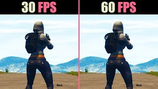 30 FPS vs. 60 FPS (Test in 6 Games)
