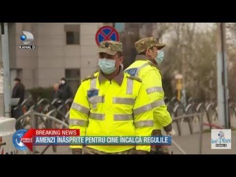 Stirile Kanal D (30.03.2020) - AMENZI INASPRITE PENTRU CINE INCALCA REGULILE!