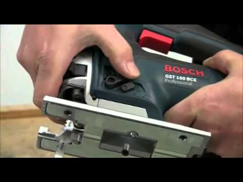 bosch gst 150 bce ce professional jigsaw youtube. Black Bedroom Furniture Sets. Home Design Ideas