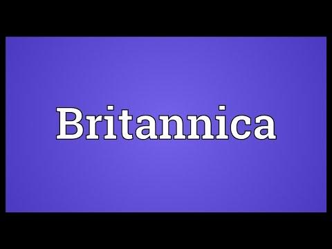 Britannica Meaning