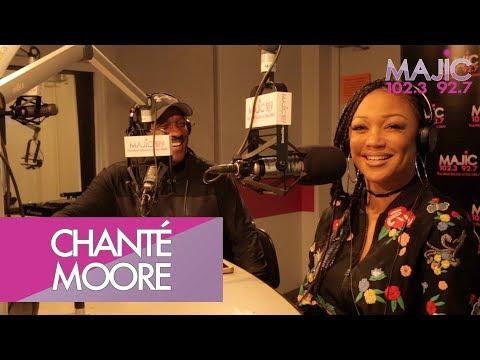 Chanté Moore Talks