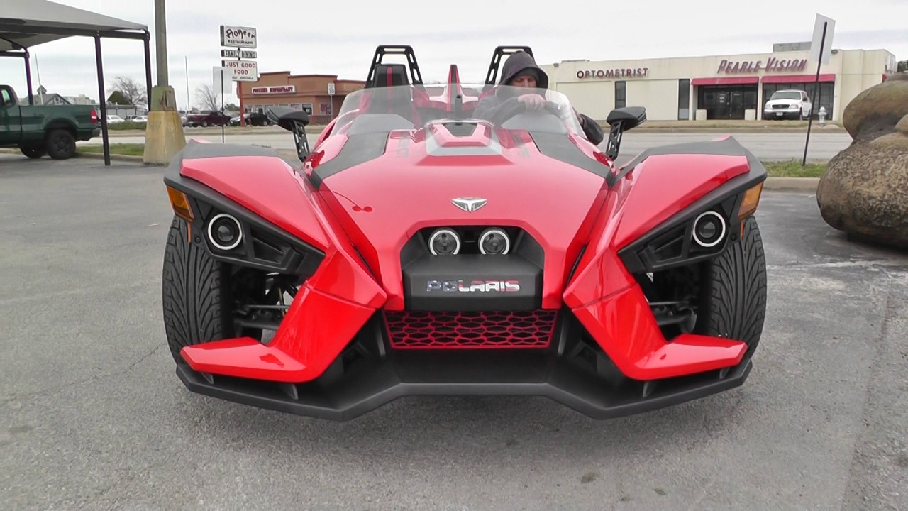 106446 2015 Polaris Slingshot Sl Used Motorcycle For Sale Youtube