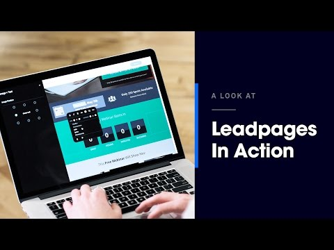 Leadpages® Feature Overview