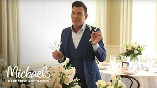 DIY Wedding Floral   David Tutera   Michaels