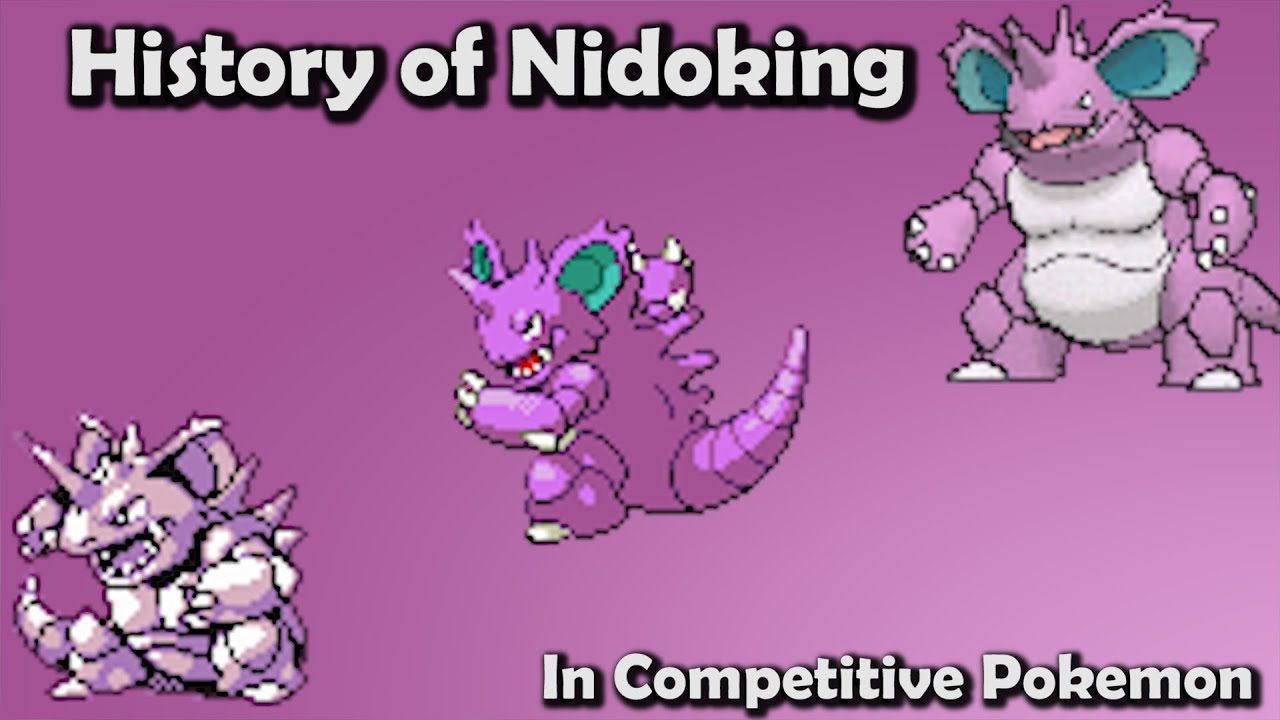How To Research Your Cause For Writing The Peion | King Or Peon History Of Nidoking In Competitive Pokemon Gens 1