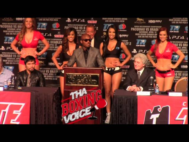 Bradley Pacquiao 2 Final Press Conference