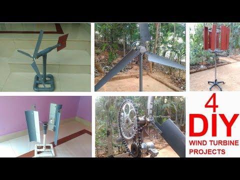 Make Amazing Wind Turbine Projects 2018 (DIY)