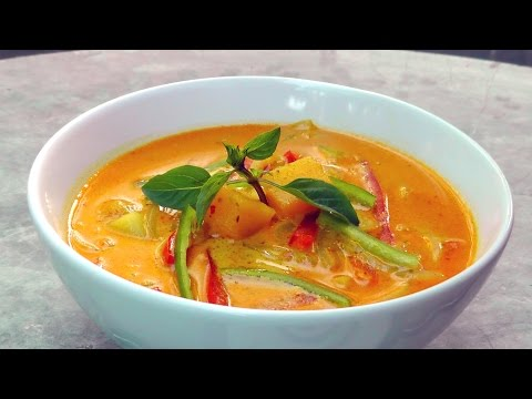 Vegan Vegetarian Thai Recipe: Yellow Curry
