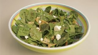 Low-calorie Spinach & Artichoke Salad : Eating Healthy & Gluten-free