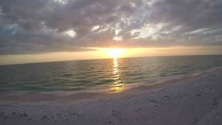 North Clearwater Beach -- Sunset (Drone Footage)