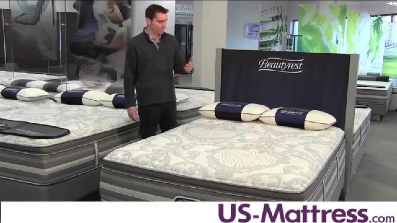 simmons beautyrest recharge world class milliani plush pillow top mattress