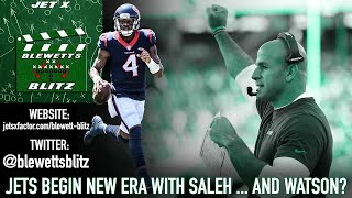 New York Jets Begin New Era With Robert Saleh ... And Deshaun Watson? | Blewett's Blitz Live
