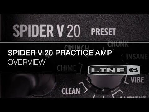 Spider V 20 Overview | Line 6