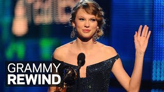 Taylor Swift Wins Album Of The Year For 'Fearless' At The 2010 GRAMMY Awards | GRAMMY Rewind