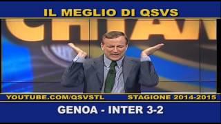 QSVS - I GOL DI GENOA - INTER 3-2  - TELELOMBARDIA / TOP CALCIO 24