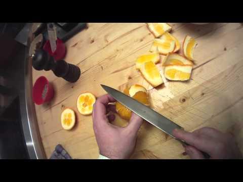 Orange schälen zum Filetieren der Apfelsine, Anleitung von Chefkoch Thomas Sixt