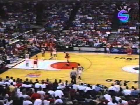 NBA Final - 1992 - Portland Trail Blazers - Chicago Bulls - mecz 5