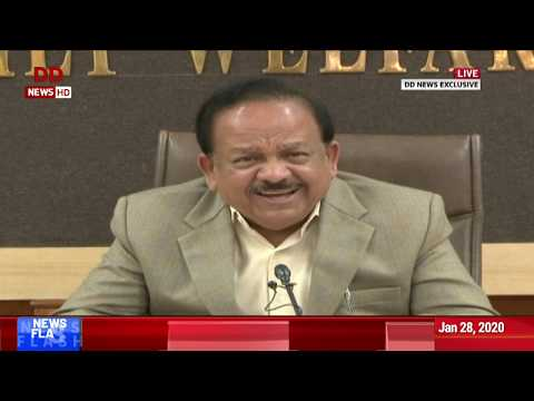 DD News Exclusive: Union Health Minister Speaks On Coronavirus In India