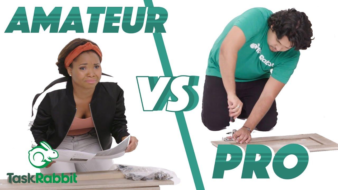 Amateur vs. Pro: Furniture Assembly