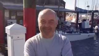 "Conor Clarke, skipper of Melges 24 ""Embarr,"