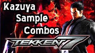 TEKKEN 7 / Kazuya Sample Combos thumbnail