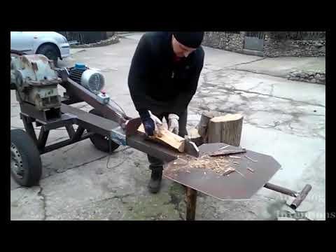 Homemade Wood Splitter