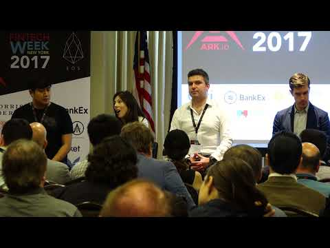 ATLANT – New York Fintech Week 2017 – ICO Panel